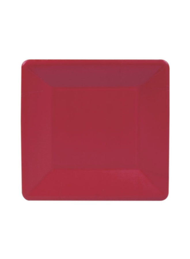 Salad Plate - Red