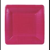 Caspari Salad Plate - Rose