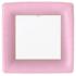 Caspari Dinner Plate - Light Pink