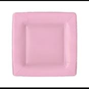 Caspari Salad Plate - Light Pink