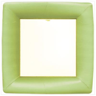 Caspari Dinner Plate - Green