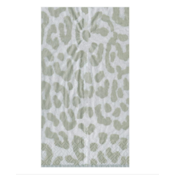 Caspari Guest Towel - Zanzibar Silver