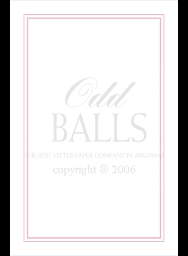 Odd Balls - Pink Phlox Pinstripe