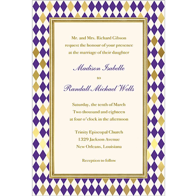 Faux Designs Faux Designs - Belvedere Purple/Gold