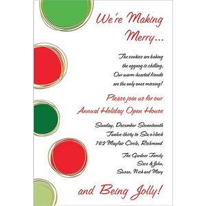 Faux Designs Faux Designs - Joie Red & Green