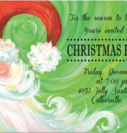 Address to Impress Address to Impress - Swirly Santa