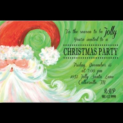Address to Impress Address to Impress - Swirl Santa