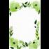 Bella Ink Bella Ink - Watercolor Green Flowers