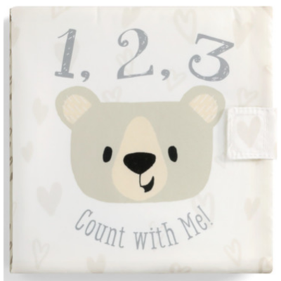 Nat & Jules 1,2,3 Count with Me Soft Book