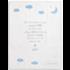 Nat & Jules Goodnight Prayer Blanket - Blue
