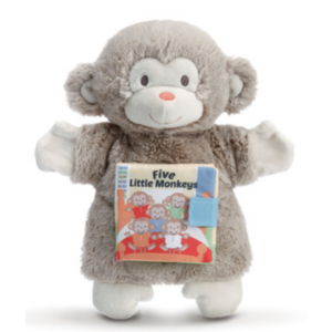 Nat & Jules 5 Little Monkeys Puppet Book