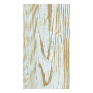 Caspari Guest Towel - Faux Bois Birch