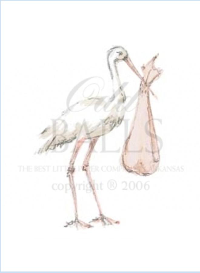 Odd Balls - Stork Peach