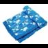 Angel Dear Jacquard Blanket - Farm Animal Blue