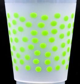 Print Appeal Shatterproof Cups - Green Dot