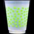 Shatterproof Cups - green dot