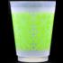 Foam Cups - Green Filigree