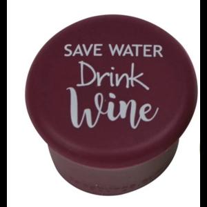 Capabunga Slogan Capabunga Save Water,Drink Wine