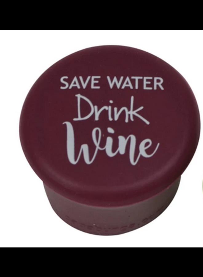 Slogan Capabunga Save Water,Drink Wine
