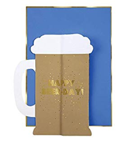 Meri Meri Greeting Card - Beer Honeycomb