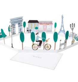 Meri Meri Greeting  Card - Paris Stand-Up