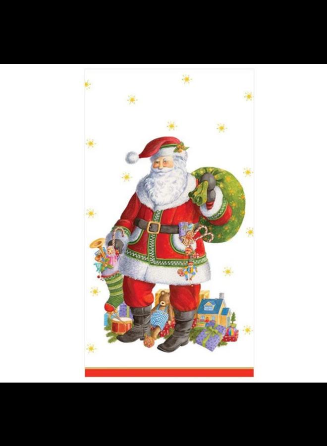 Guest Towel - Santa Claus Lane