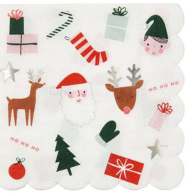 Meri Meri Christmas Fun Napkin - Small