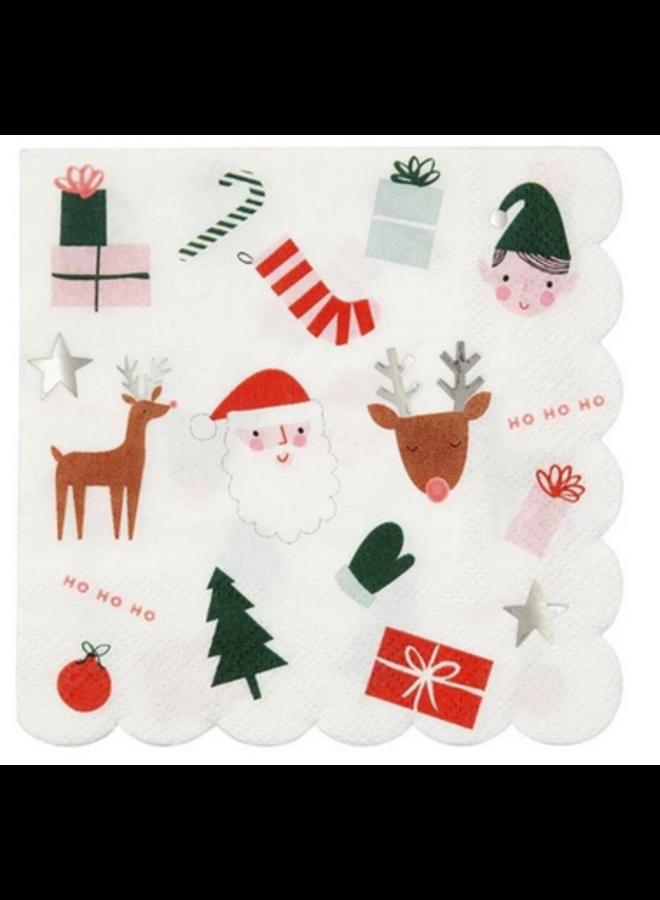 Christmas Fun Napkin - Large