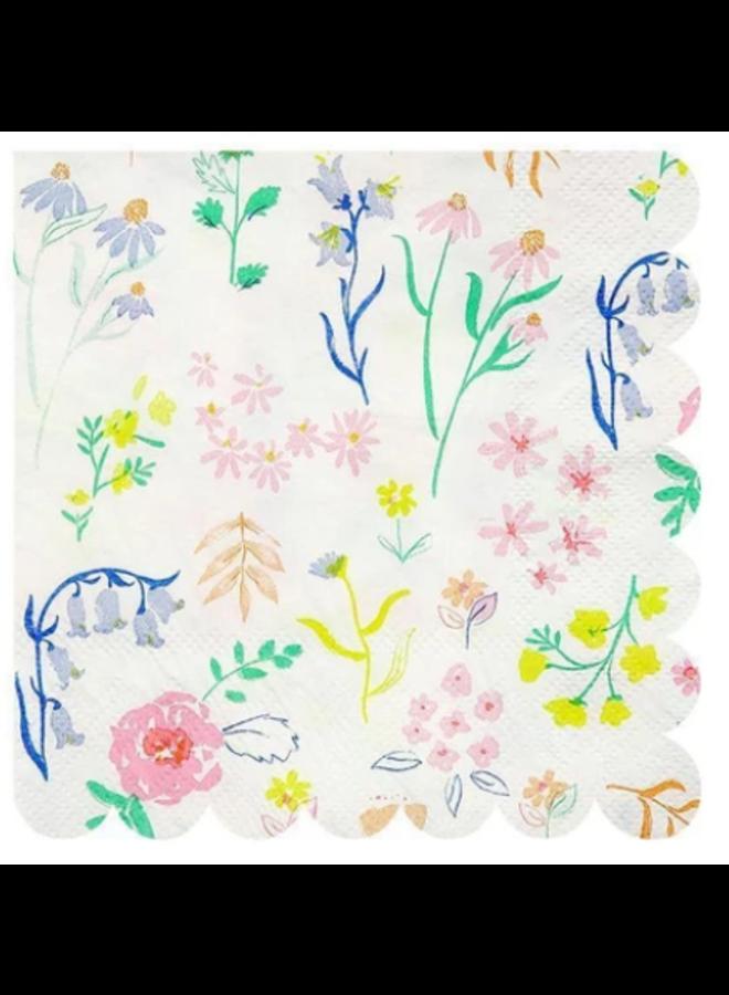 Floral Napkin