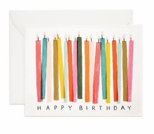 Rifle Paper Co Birthday Candle Card