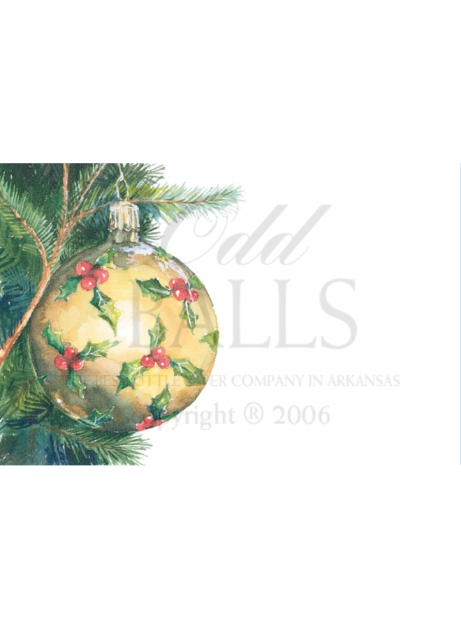 Odd Balls - Frost Gold Ball