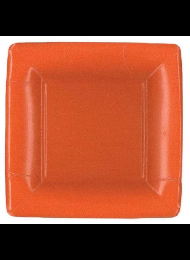 Salad Plate - Deep Orange