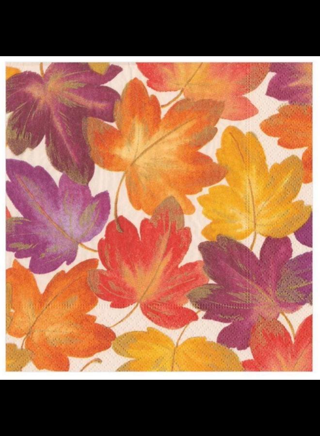 Luncheon Napkin - Fallen Leaves