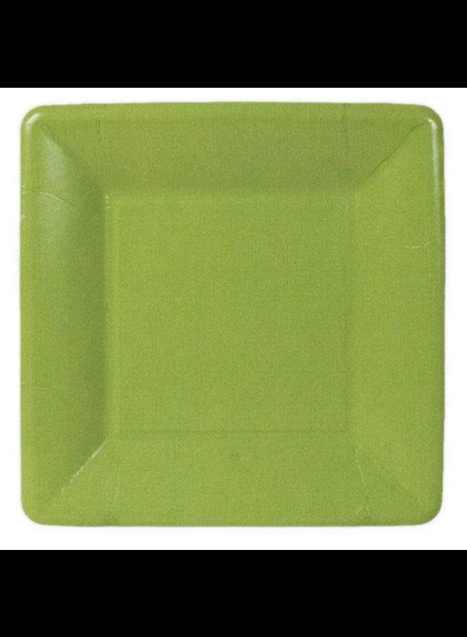 Salad Plate - Moss Green