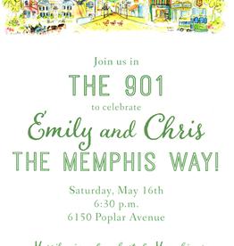 Address to Impress Address to Impress - Memphis Skyline