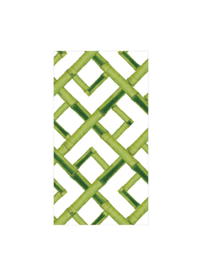 Guest Towel - Bamboo Green