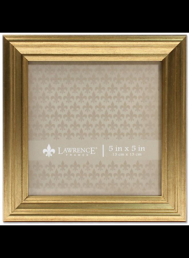Sutter Burnished Gold Frame 5x5