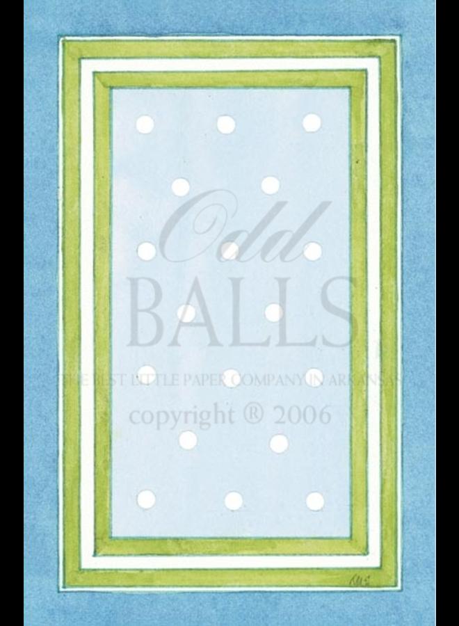 Odd Balls - White Dots