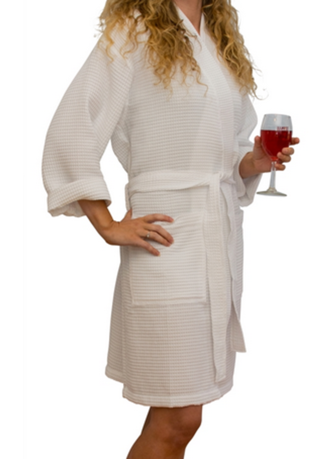 Waffleweave Robe