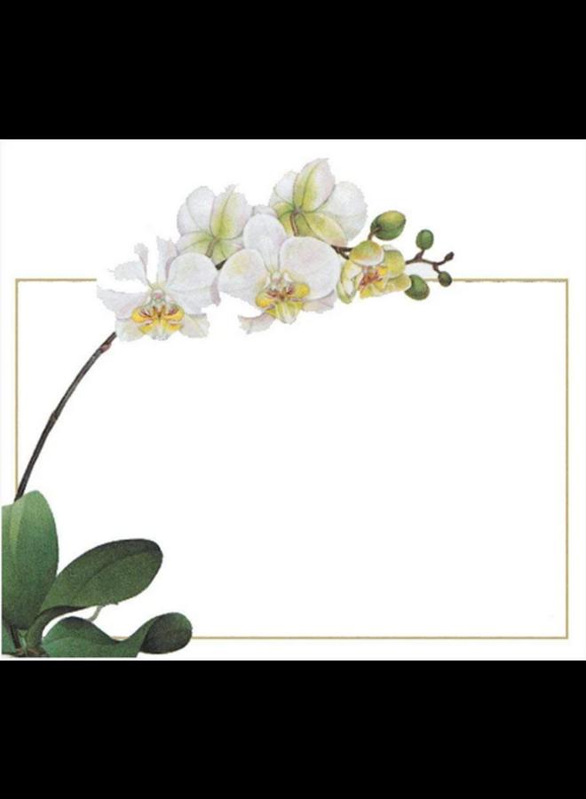 Place Cards - Die-Cut - Orchid