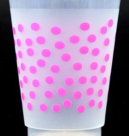 Print Appeal Shatterproof Cups - Pink Dot