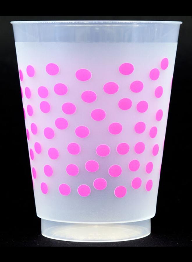 Shatterproof Cups - Pink Dot