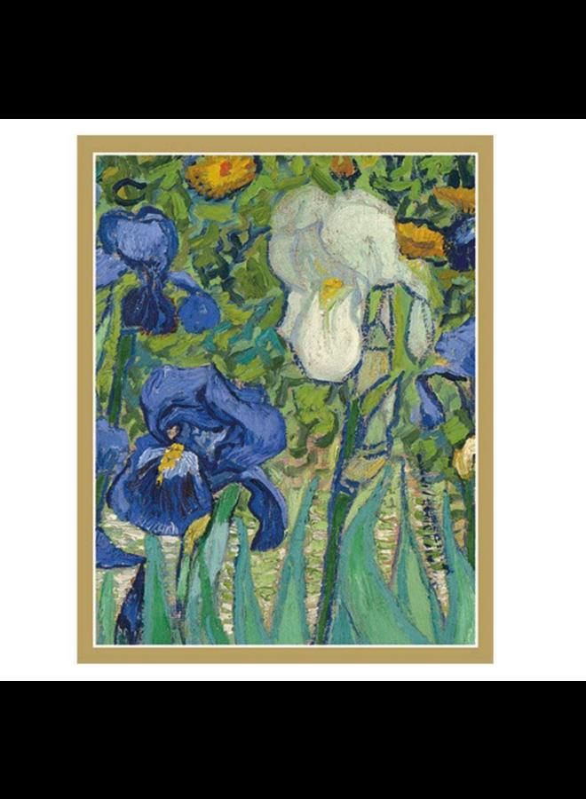 Bridge Tally Sheets - Van Gogh Irises