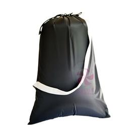 Mint Nylon Catch-All Bag Black