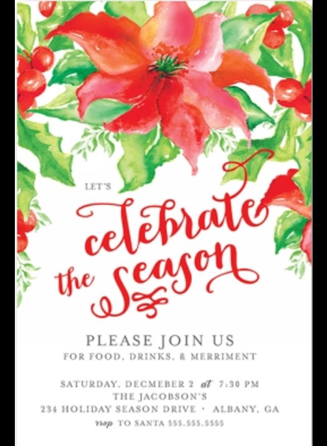 Address to Impress - Holiday Foliage