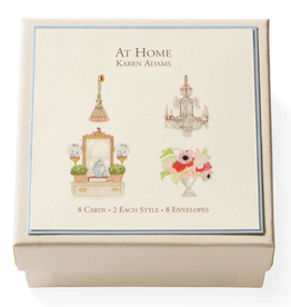 Karen Adams Gift Enclosure Box - At Home