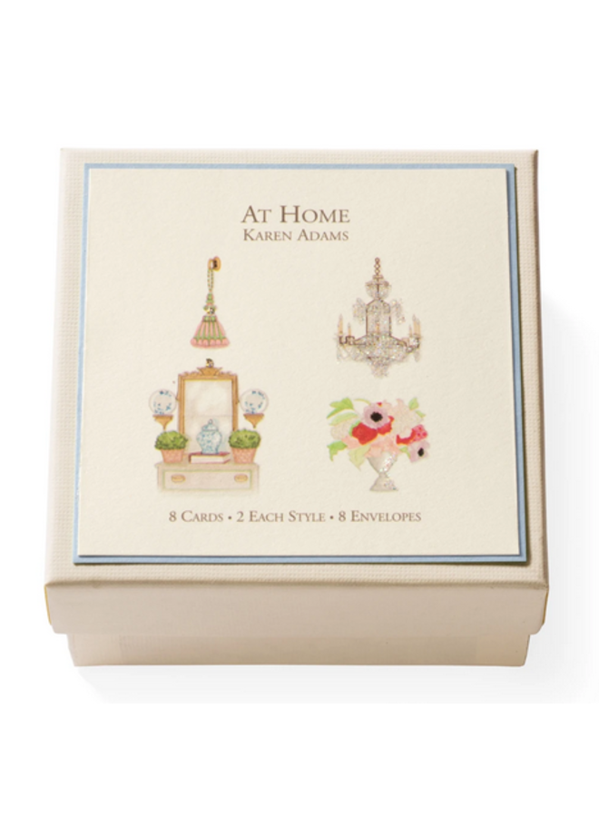 Gift Enclosure Box - At Home