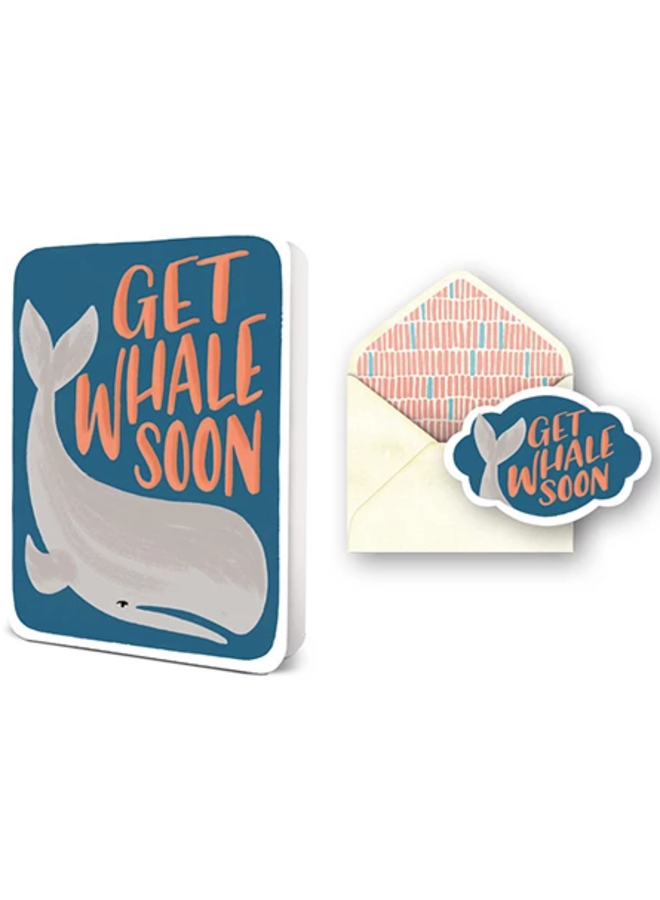 Deluxe Card Sets Get Whale Soon