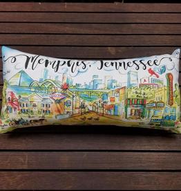 Address to Impress Memphis Pillow