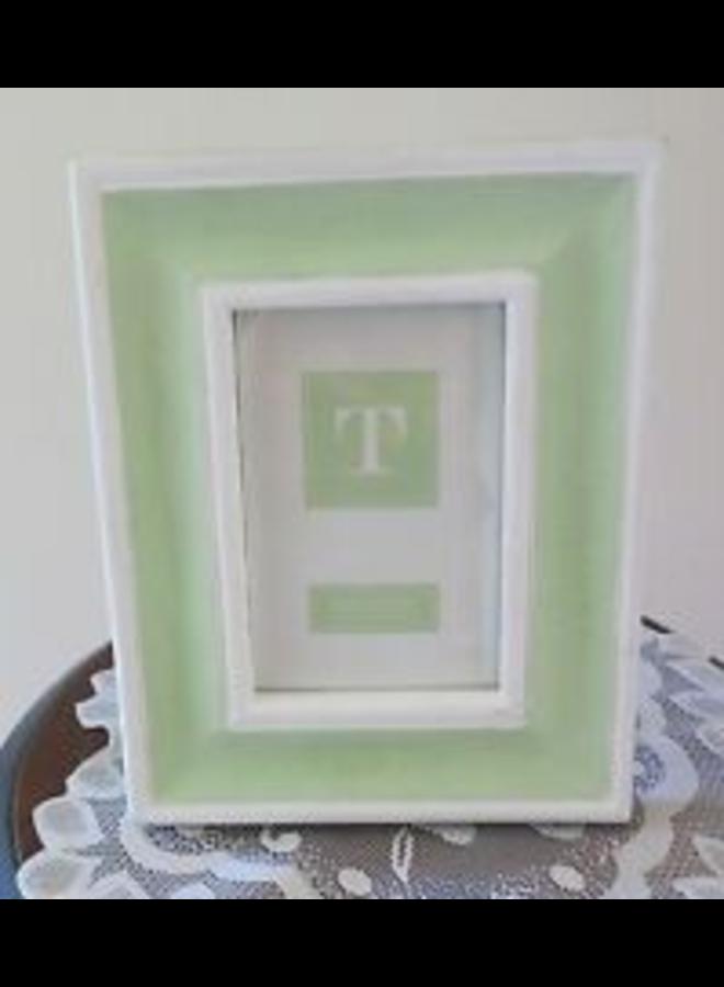 Green Wood Frame